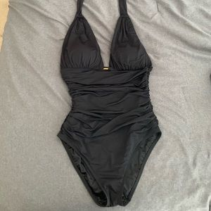 Black Victoria's Secret one piece swimsuit